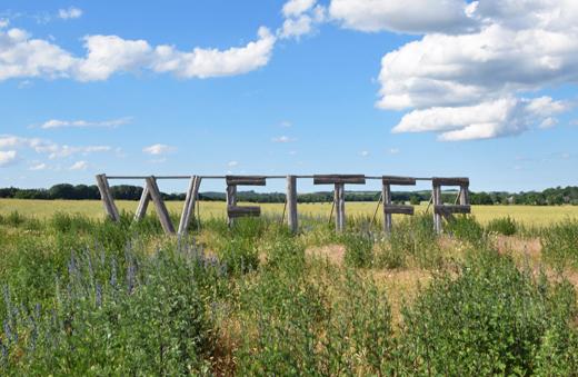 WEITER - Landschaft der Uckermark in Brandenburg
