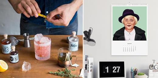 Drink-Syndikat Cocktail-Kits mit Rezepten und Zutaten und HIPSTORY Kalender 2017