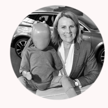 Prof. Lotta Jakobsson, Senior Technical Leader für Unfallvermeidung im Volvo Cars Safety Centre