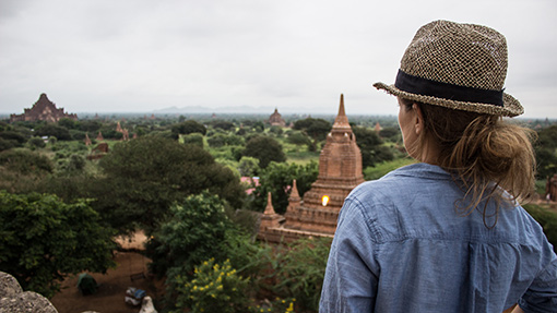 Yvonne von Reise Blog Just Travelous - Bagan