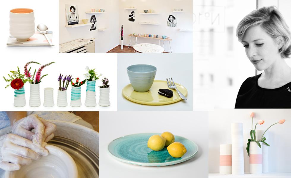 Porzellan und Keramik von Annika Schüler aus München, Geschirr in Handarbeit gefertigt, online bestellen