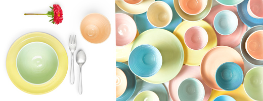 Keramik Geschirr von Annika Schüler - Serie Sommertag, online bestellen