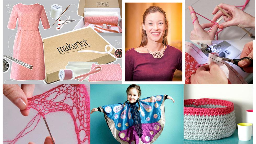 Interview mit Amber Riedl, Gründerin Makerist.de, Handarbeitsschule im Internet, Anleitungen, Videos, Tutorials, nähen lernen, stricken lernen, häkeln lernen