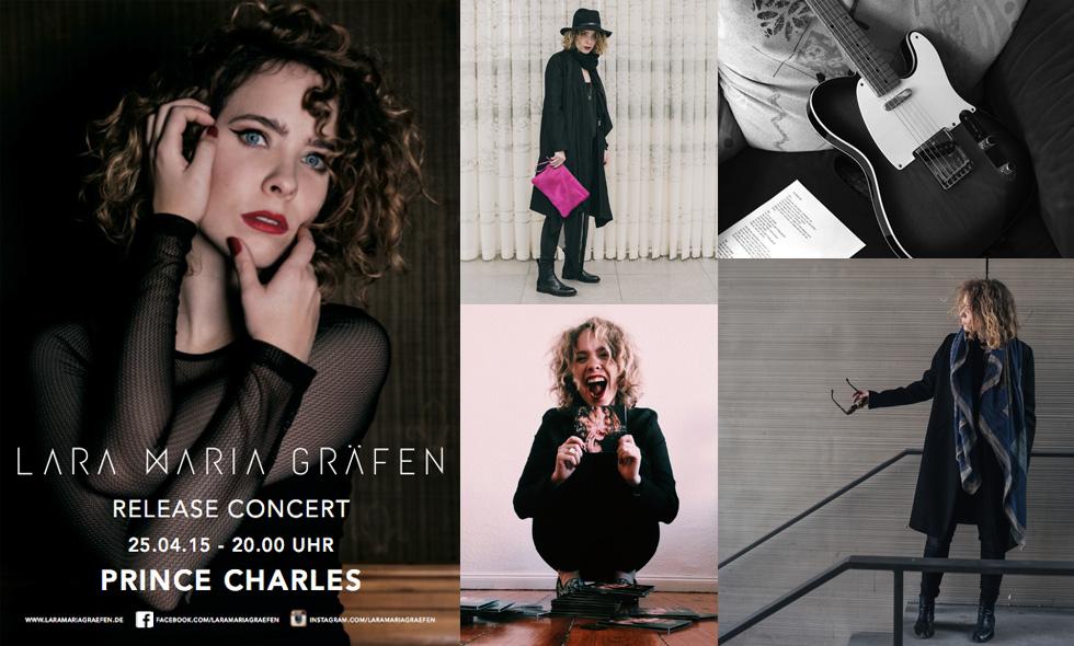 Sängerin und Bloggerin Lara Maria Gräfen - Styling, Mode, Musik und das Release Konzert in Berlin