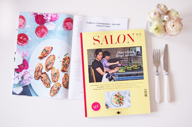 Gewinne ein Jahresabo für das neue Food Magazin Salon Mag - Gewinnspiel