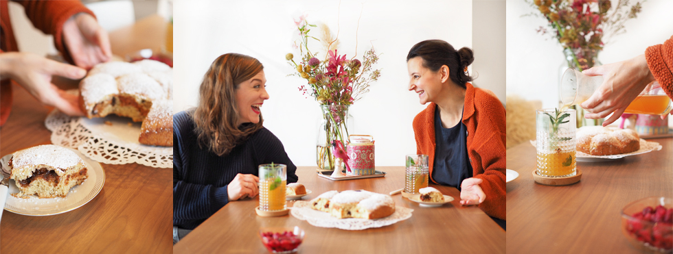 Beauty Bloggerin Hanna Schumi von Foxycheeks im Interview mit Berit Mülle, Rezept Buchteln, Küche, gerichte, Österreich