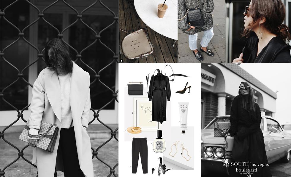 Outfit Bloggerin Fiona Dinkelbach vom Blog The Dashing Rider im Interview zum Thema Ästhetik, Fotografie, USA, Nevada, Schwarz/Weiß und minimalistische, cleane Looks