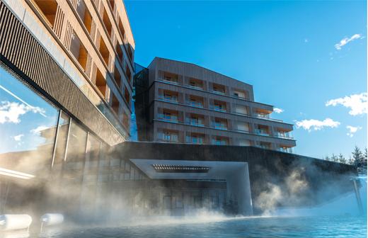 Falkensteiner Hotel in Schlattming in der Steiermar, Österreich, mit Wellness, Spa, Sauna und Pool