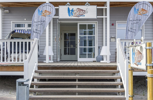 Beach motel st peter ording winterreise in die surfer for Designhotel nordsee