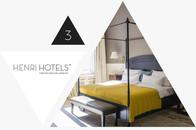 Henri Hotel Berlin - Übernachtung im Doppelzimmer im Adventskalender Gewinnspiel gewinnen