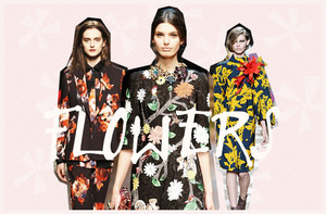 Flower Prints Autumn Winter 2014/15