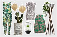 Botanik-Trend zum Anziehen und Pflanzentöpfe direkt online bestellen, Onlineshop, grün, Frühling 2015