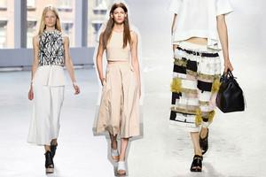 Trend-Hosen Culotte im Frühling/Sommer 2014