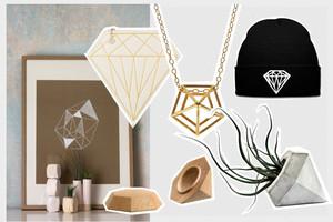 Diamanten in Interior Design und Mode online bestellen, Onlineshop