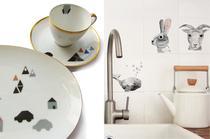 Wohnaccessoires und DIY-Sets mit Illustrationen von Nukk, Handmade, Onlineshop, online bestellen