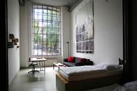 Pension Meisterzimmer – Kunst-Lofts in Leipzig, Ferienwohnung, Künstler-Ateliers, Industriecharme