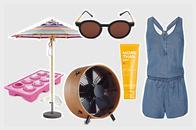 Mode, Beauty und Wohnaccessoires für heiße Tage online bestellen, Onlineshop, Sommer, heiß