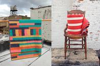 Moderne Quilts von Mast General über Etsy online bestellen, Online-Shop, Wohnaccessoires, Handmade