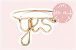 Vergoldeter Ring von By Philippe