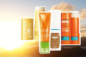 Sonnenschutz mit Sonnenstiften