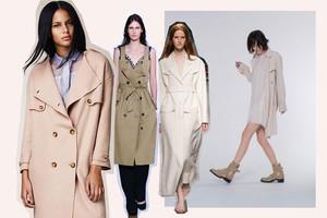 Trend Trenchcoat, die neuen Modelle im Frühling/Sommer 2014