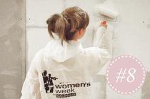 Womensnight von Bauhaus mit Tipps, Anleitungen und Workshops zum Heimwerken, Bohren, Sägen, Dübeln und Anstreichen