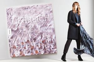 Bildband TIERREICH von Fotograf Ingo Arndt in Kooperation mit dem norwegischen Modelabel Holzweiler, Bildband, schalds, seidentücher, online bestellen