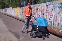 Kinderwagen Bugaboo Cameleon 3 in Petrol mit Getränkehalter