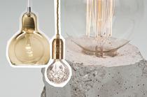 Lampen mit Fassung und Glühbirnen, Bulb Lampen als neuer Wohnungstrend, online bestellen
