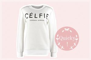 CELFIE Sweatshirt von Criminal Damage in Weiß online bestellen