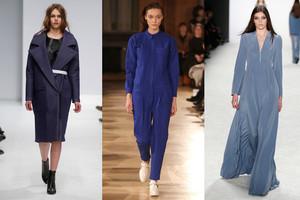 Mercedes-Benz Fashion Week Berlin, Kollektionen und Modetrends im Winter 2015/16 - Denim und Jeans von Vektor, Hien Le, Riani
