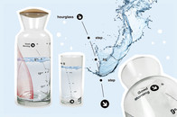 DrinkItNow Karaffe und Glas für den richtigen Tagesbedarf an Wasser - genügend trinken, online bestellen