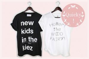 T-Shirts mit slogan von modelabel fairlin berlin