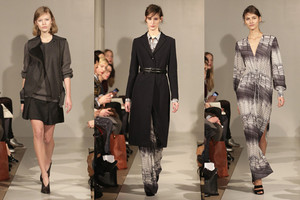 Filippa K Modenschau in Berlin - Kollektion Herbst/Winter 2014/15, Fashion Week, Autumn/Winter 2014/15, Flagshipstore Kurfürstendamm