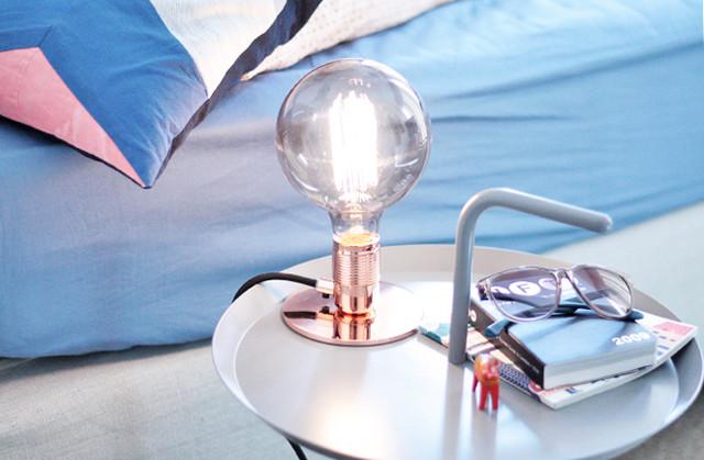 Im Gewinnspiel Frama Lamp in Kupfer mit Atelier Globe Light als XXL Glühbirne gewinnen