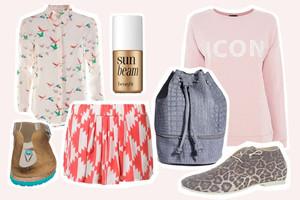 Modetrends im Frühling - Styling und Outfits neu in den Onlineshops, online bestellen, Kollektionen Sommer 2014, Trends 2014,