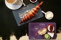 Frühstücksbrettchen STEREOTYPES mit Illustrationen zu Kiezen und Stadtteilen von Hamburg
