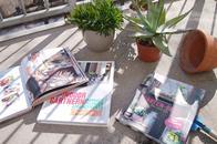 Gartenbücher - Pflanzen-Ideen und Dekoration für den Balkon, Garten und die Wohnung mit Indoor-Gärten, stadtbalkon, garten fräulein, katharina Pasternak, isabelle palmer
