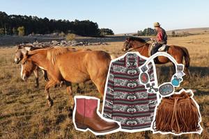 Modetrend Herbst/Winter 2014/15 - Gaucho und Cowboy Styling