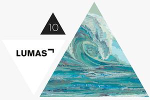 Matthew Cusicks Werk Mylans Wave von LUMAS im Adventskalender Gewinnspiel gewinnen