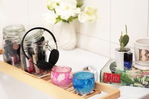 Duftkerzen von Glade - Tipss zum Thema Entspannung und Achtsamkeit für Mama und Kind