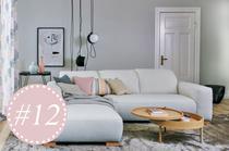 Wand streichen in der Trendfarbe Grau - Tipps für Einrichtung und Dekoration