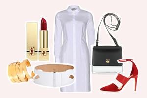 Outfit und Styling zum Nachbestellen - Shop the Look - Sommertrend, das Hemdblusenkleid, online bestellen