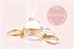 Ringe in Gold mit Knoten und Schmuck von ILoveBlossom online bestellen