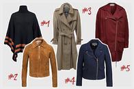 Jacken und Mäntel für den Übergang online bestellen, Onlineshop