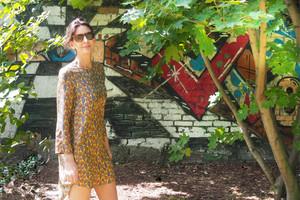 Seidenkleid von Anni Carlsson mit Print gewinnen, Gewinnspiel, Verlosung