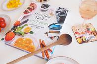 Kochbuch Die grüne Küche geht auf Reisen mit vegetarischen, veganen und glutenfreien Rezepten und einem Special Reisen mit Kindern
