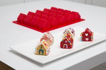 Backformen von Konstantin Slawinski aus Silikon, Kuchen Häuser für Weihnachten, backen,