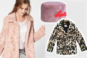 Modetrend Kunstfell mit Mäntel, Jacken, westen und Taschem aus Fake Fur und Pelzimitat, Webpelz,