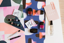 Kosmetikprodukte für ein schnelles Make-up, Tutorial, Tipps und neue Produkte von L.O.V. Cosmetics
